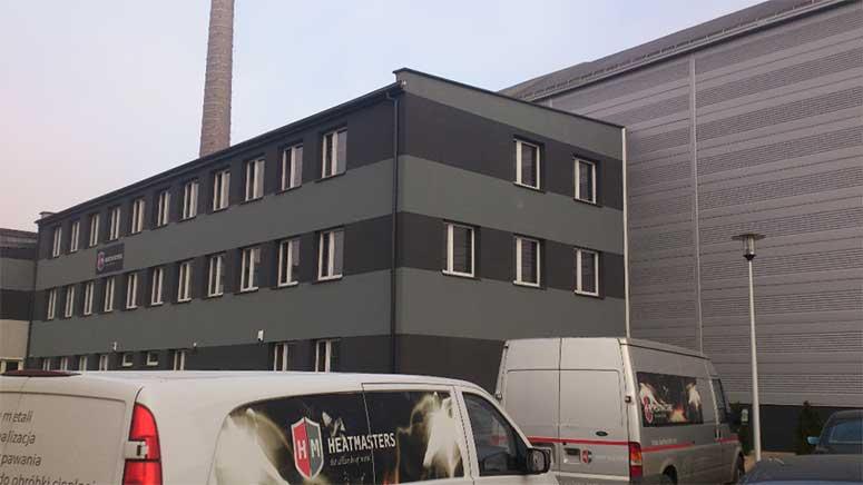 Previous Heatmasters heat treatment facility in Bedzin, Poland