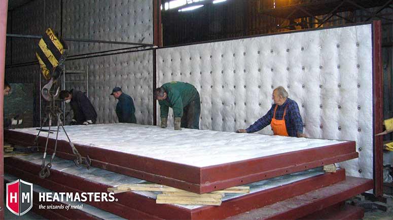 Heatmasters gas heat treatment furnace in Poland