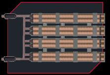 VLH Channel Heater - Heatmasters