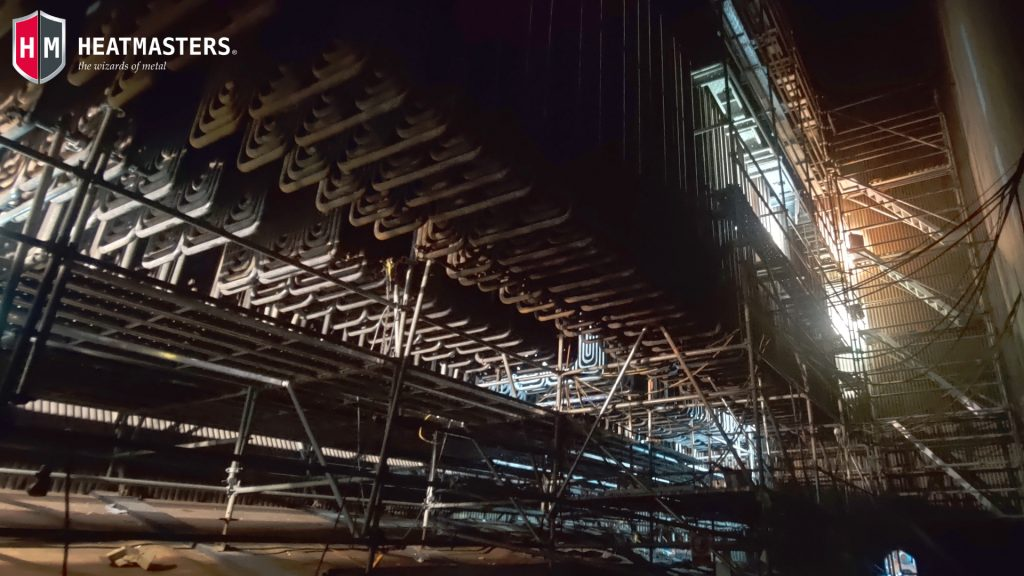 "On-site Heat Treatment at the Montes del Plata Mill in Uruguay - Heatmasters - Local zone heat treatment - ""PGP 2020 (Parada General de Planta)""."
